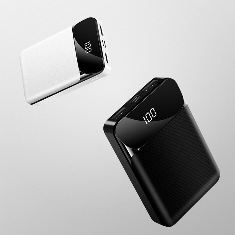 Dual 2 USB Power Bank Case 18650 Battery Fast Charging LED Display For iPhone XS 11 Pro Huawei Xiaomi Oneplus 6T 7 Pro