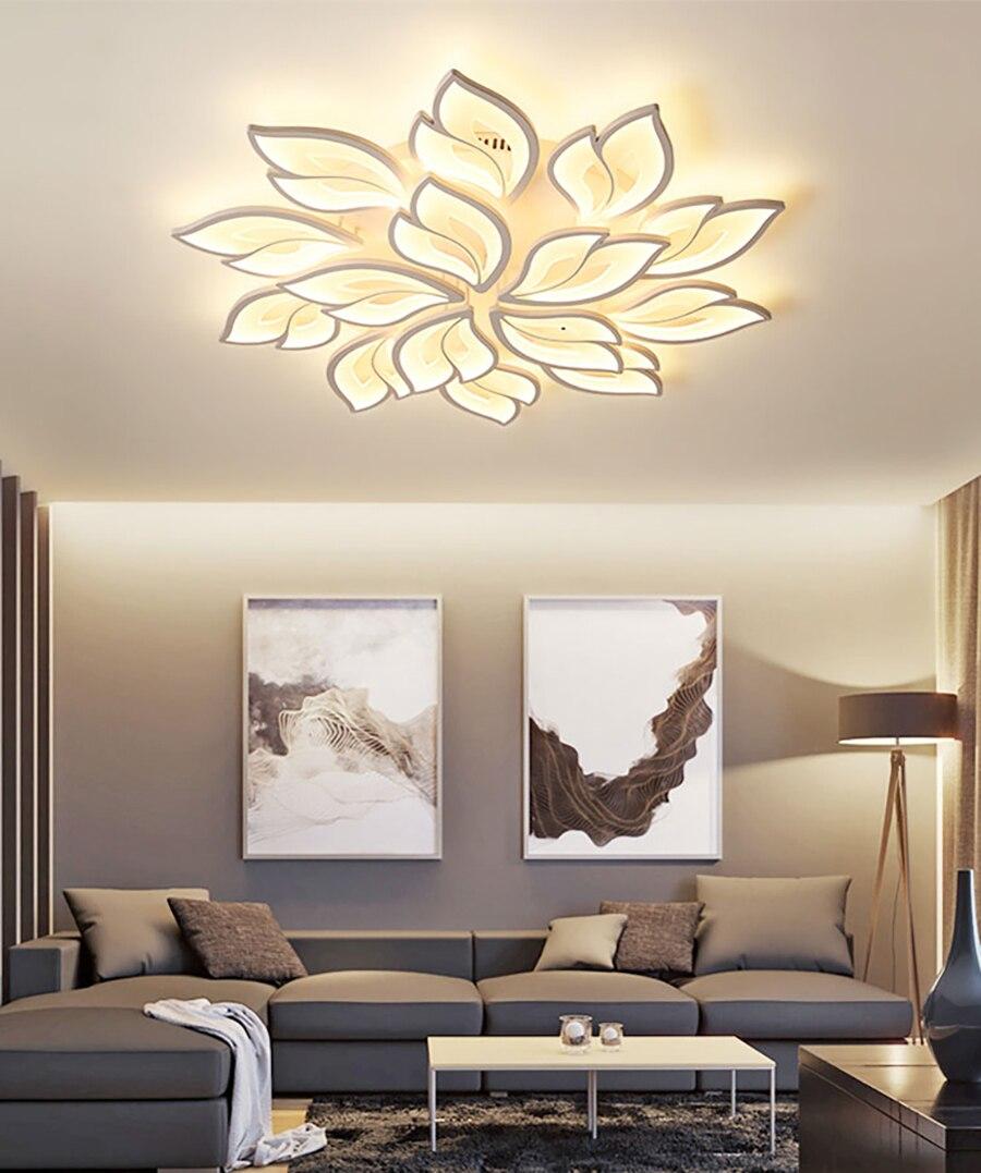 Led luz de teto moderno app controle