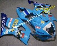 For Suzuki GSX R1000 2003 2004 K3 GSXR 1000 03 04 GSXR1000 Blue Aftermarket Sport Motorbike Fairing (Injection molding)