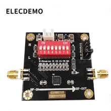 Módulo atenuador Digital de RF PE43703, ancho de banda, 9K ~ 6GHz, 0.25dB, paso a 31,75db, placa de demostración de función