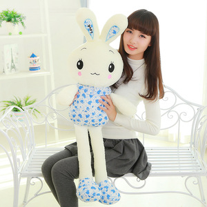 "Image 4 - ""חמוד ארנב"" זוהר ממולא בעלי החיים בובה בפלאש צעצוע יום הולדת חג המולד מתנה"