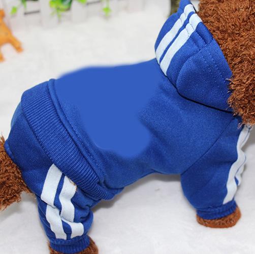 PUOUPUOU Winter Warm Pet Dog Clothes Hoodies Sweatshirt for Small Medium Dogs French Bulldog Sweet Puppy Dog Clothing XS-XXL 18