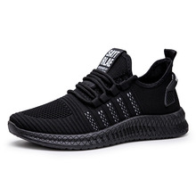 Spring Autumn men casual shoes fashion sneakers men flyknit breathable run shoes lace-up zapatos de hombre outdoor shoes men spring autumn men casual shoes fashion sneakers men flyknit breathable run shoes lace up zapatos de hombre outdoor shoes men
