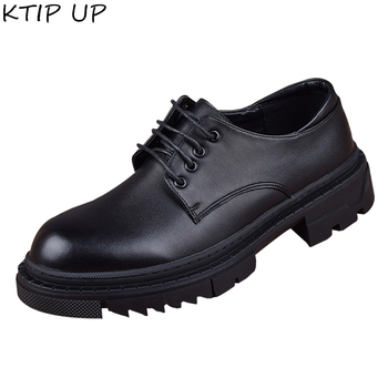 Fashion Business Men Casual Leather Shoes High Quality Office Shoes Men Suits Shoes Brand Lace Up Casual Shoes Men Oxfords