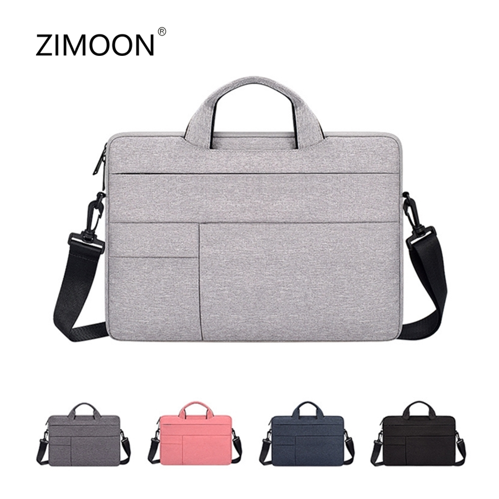 Waterproof Laptop Shoulder Messenger Bag Notebook Case Cover Computer Briefcase For 13 14 15 Inch  MacBook Pro Air Retina HP