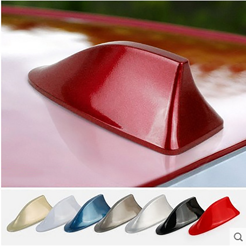 Car Shark Fin Antenna With Signal Radio Roof Modification Decoration Universal Model