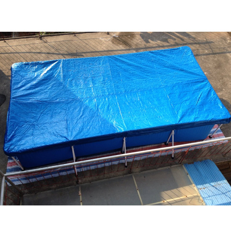 Covering Cloth For Swimming Pool Square Swimming Pool Cloth Holder Sink Lid Swimming Pool Dust Cover Waterproof Rain Cloth Acces