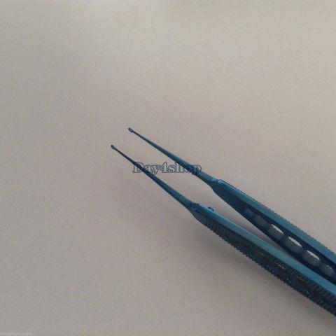 novo titanio fechtner conjuntiva pinca oftalmica olho instrumento cirurgico