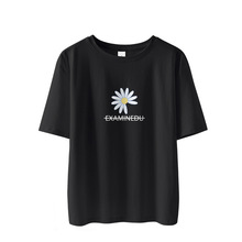 2020 women's t-shirt t-shirt printed with letter T-shirt Casual Short Sleeve Cotton Top summer women