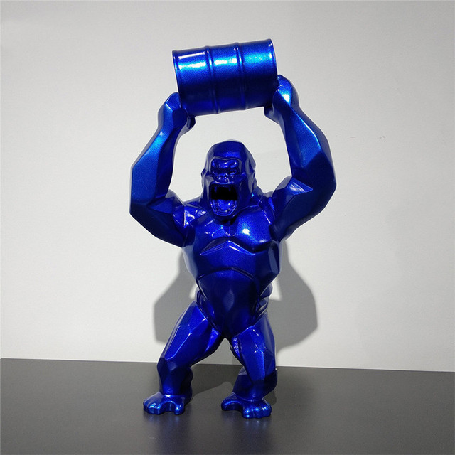 Resin Gorilla Sculpture