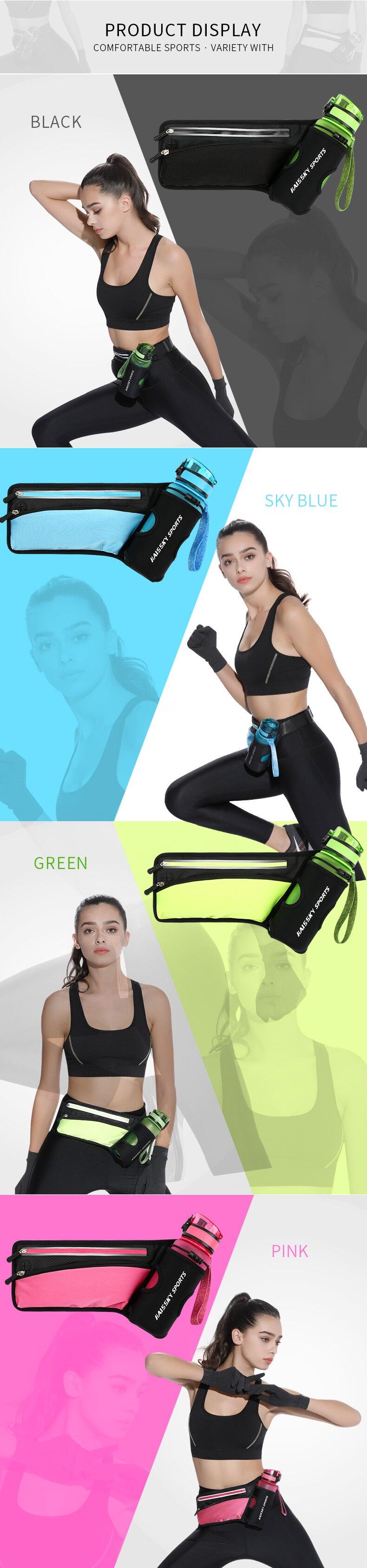 cinto pacote cintura universal fitness fanny telefone saco casos