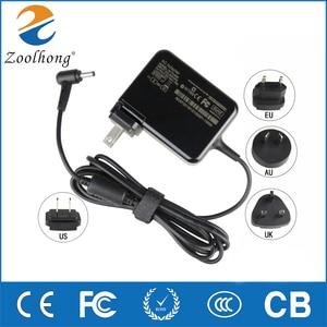 19V 1.75A 33 Вт 4,0*1,35 мм AC адаптер ноутбука Зарядное устройство Мощность адаптер для ноутбука ASUS ADP-33AW S200E X202E X201E Q200 S200L S220 X453M штепсельные вилки 4 в 1