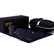 Classic Pilot aviation Sunglasses Men Driving Clear Polarize