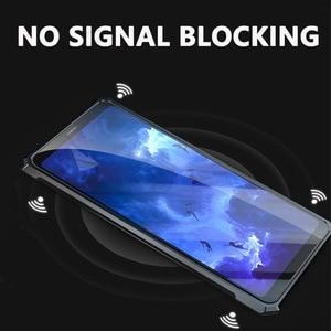 Image 5 - غطاء معدني فاخر لهاتف آيفون XS زجاج شفاف خلفي من الألومنيوم إطار معدني غطاء لهاتف آيفون XR 11 Pro Max غلاف رقيق نحيف