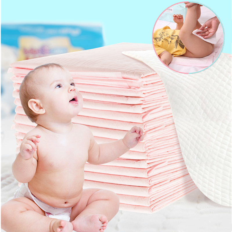 Baby Disposable Diaper Paper Mat  Changing Mat Nursing Pad For Adult Child Or Pets Absorbent Waterproof Diaper