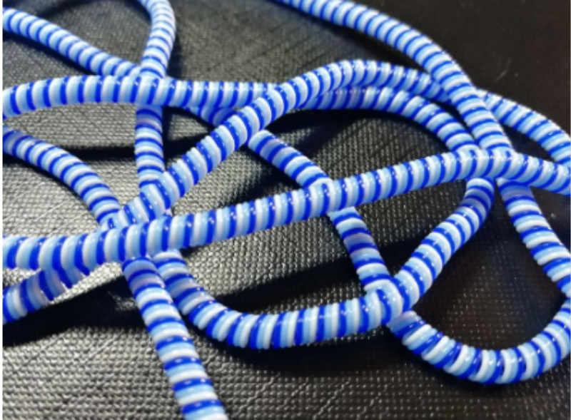 1,5 м смешанный цвет телефонный провод шнур Защитная веревка зарядка обмотка для кабеля для шнуров наушников крышка костюм весна рукав шпагат