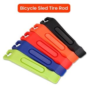 Рычаги для шин велосипеда, 1 шт., хвостовик, плоская головка, заостренный лом, рычаг для ремонта шин, ручные инструменты TSLM2