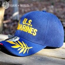 Snapback-Hat Baseball-Caps Military-Cap Han Wild Marine Mens Adjustable