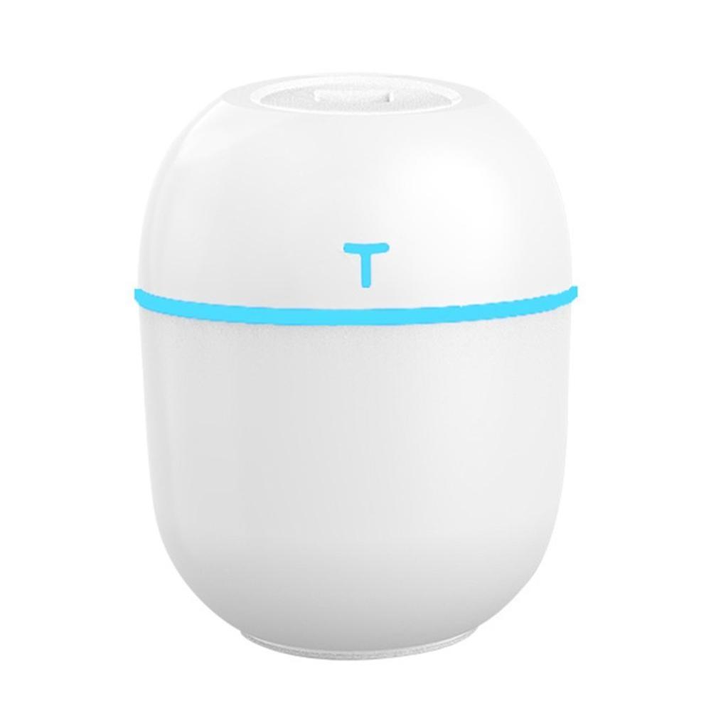 Mini Usb Desktop Humidifier Mute Home Office Car Fine Mist Rechargeable Mini Humidfier Egg Shape Breathing Lamp
