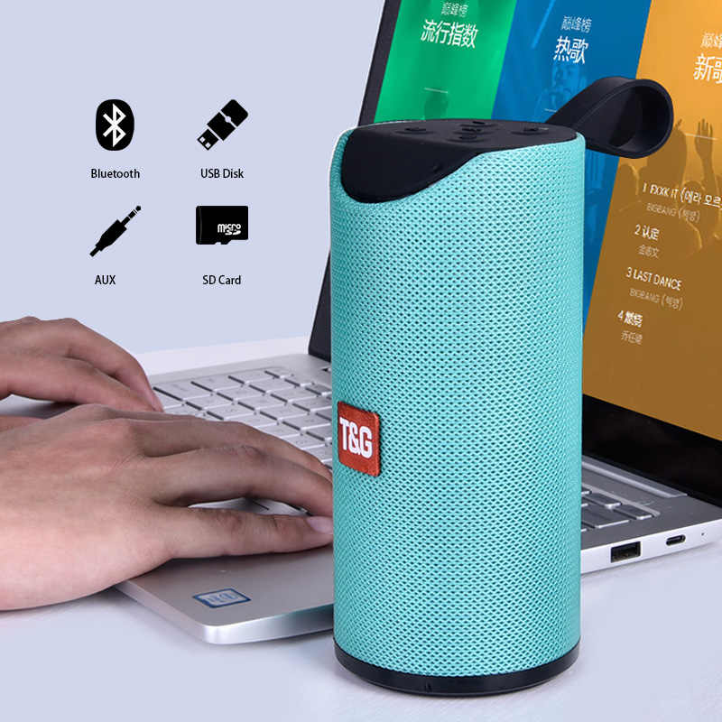 Bluetooth Altoparlante Portatile Sound Box con FM Radio Wireless Outdoor Colume USB TF di FM Radio Vivavoce Chiamata Boombox Bass Speaker