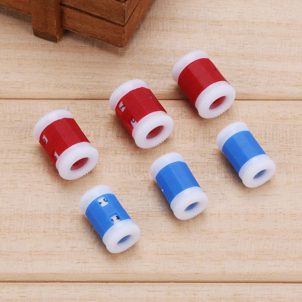 Plastic Craft Needle Sewing Tool Accessories Crochet Knitting Row Counter Pro