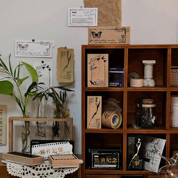 6 sztuk partia złoty wiek serii znaczek DIY drewniane pieczątki papiernicze scrapbooking standardowy znaczek tanie i dobre opinie CN (pochodzenie)