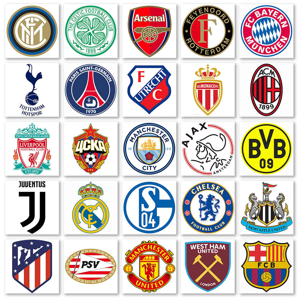 Football Club Badge 5d Diy Diamond Painting Full Square