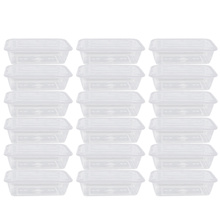 Packing-Box Take-Out Transparent Salad Meal-Containers Food-Storage-Box Disposable 50pcs