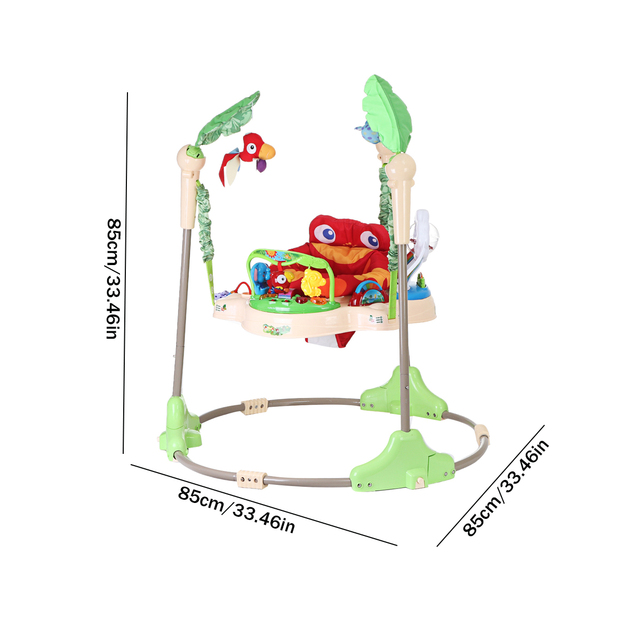 Multi-function Children Baby Bouncer Walker 6-24M Baby Gym Rack Cradle Baby Swing Rocking Chair for Newborm Baby Activity Gear 5