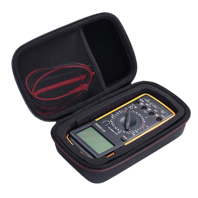 Hard Shockproof Multimeter Carrying Case Bag For Fluke 117 115 F117C F17B+ F115C Cover Carry EVA Protective Box