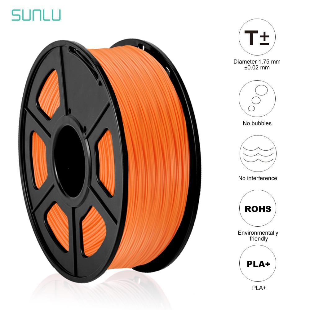 SUNLU PLA PLUS 3D Drucker Filament 1,75mm 1KG 2,2 £ PLA + DIY 3D Druck Material Mit Spool 3D Druck Vakuum Verpackung Schnelle Schiff|3D Druck-Materialien|   -