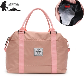 Fitness Bag For Gym Men Sac De Sport Femme Dry Wet Handbags Sport Training Bag Men For Large Gym Travel Bag Women Outdoor Duffle 1