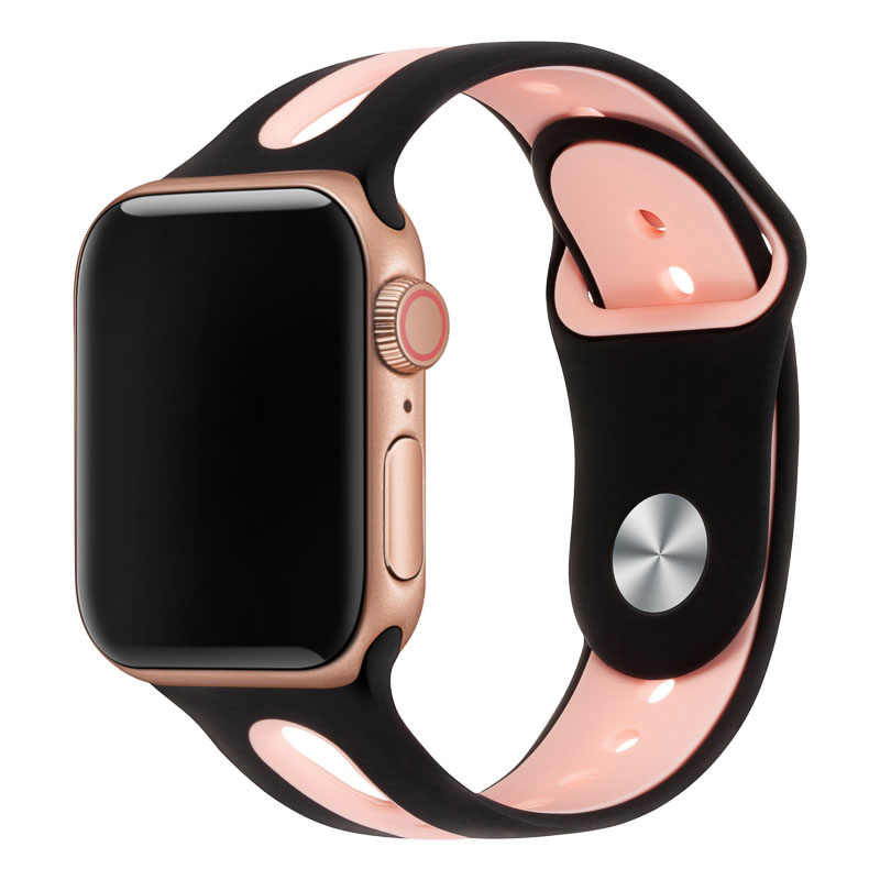Watch Band Per Apple Watch Band 42 millimetri 38 millimetri 44 millimetri 40 millimetri di Silicone Del Cinturino di Iwatch Per Apple orologio Series4/3/2/1 81003