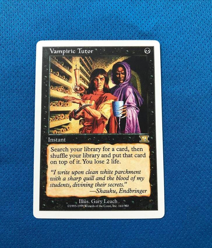 Vampiric TutorSixth Edition Magician ProxyKing 8.0 VIP The Proxy Cards To Gathering Every Single Mg Card.