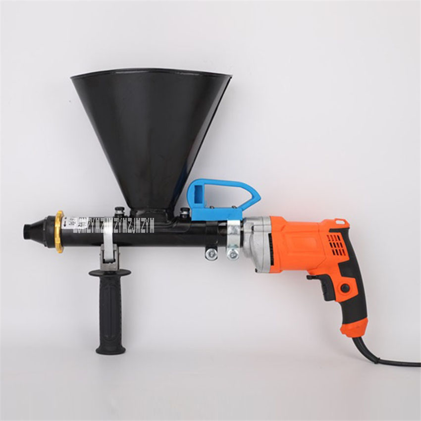 X05-4 Electric Grouting Caulking Gun Window Gap Grouting Machine Injection Grouting Machine 110V/220V 650W 0.4L/min 2200rpm 4.7L