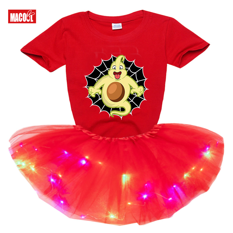 Костюмы на Хэллоуин платья для девочек комплекты 2020 Летнее
