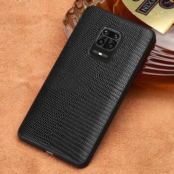 LANGSIDI brand luxury case For xiaomi redmi note 9 s 8 pro carcasa Original leather cover coque note 9s shockproof black fundas