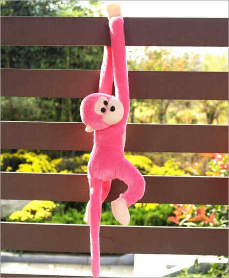 Carino Screech Scimmia Giocattolo Della Peluche Bambola Bambola Gibbons Scherza Il Regalo Kawaii Regalo per I Bambini Regalo Farcita Molle Del Giocattolo per I Bambini regalo di Natale