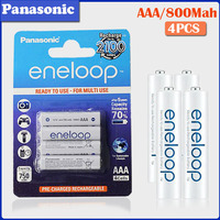 4pcs Panasonic Original 1,2 v AAA 800mAh Akku für Kamera Taschenlampe Spielzeug fernbedienung Pre-aufgeladen ni-mh Batterie