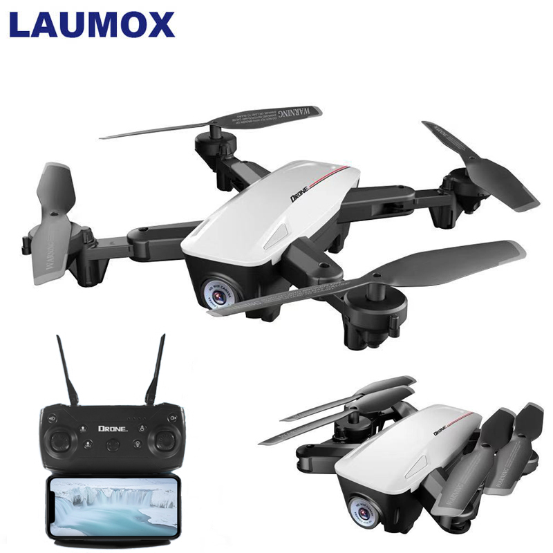 LAUMOX LX100 <font><b>RC</b></font> <font><b>Drone</b></font> With 4K/1080P HD Camera Optical Flow Positioning WIFI <font><b>FPV</b></font> Foldable Quadcopter Helicopter <font><b>Drones</b></font> Follow Me image