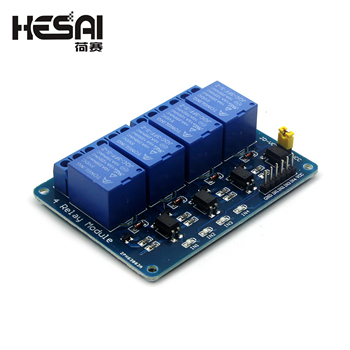 5V/12V 4-Channel Relay Module Shield for Arduino ARM PIC AVR DSP Electronic 4 road Relay Module фото