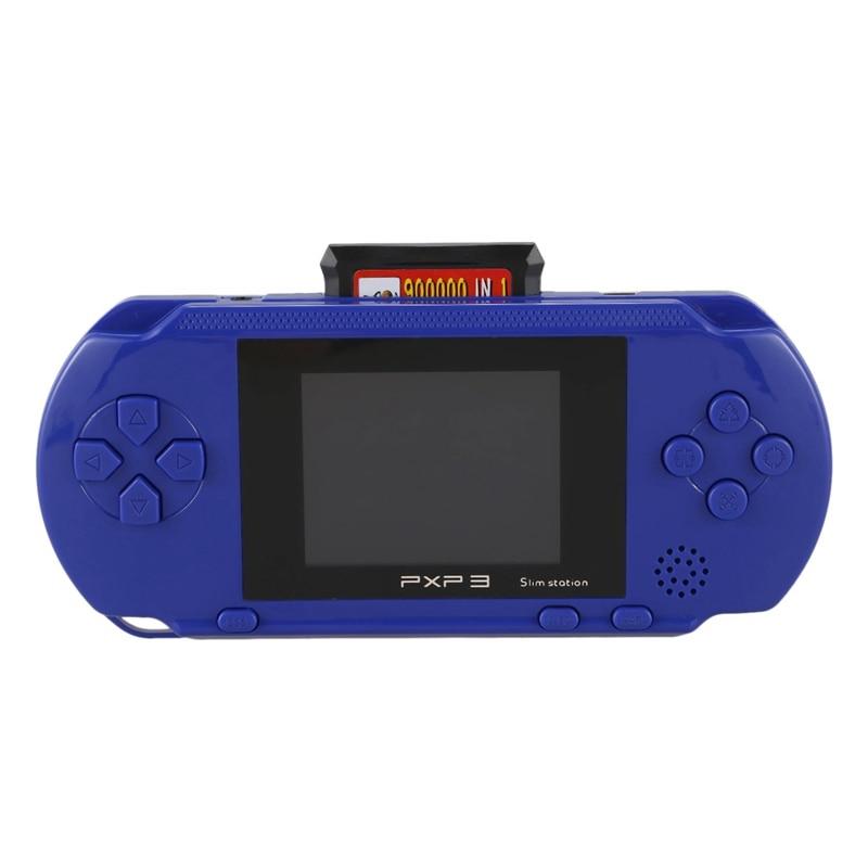 3 pouces 16 bits Pxp3 lecteur de jeu portable rétro Console de jeu vidéo 150 jeux classiques enfant joueurs de jeu Console (bleu)