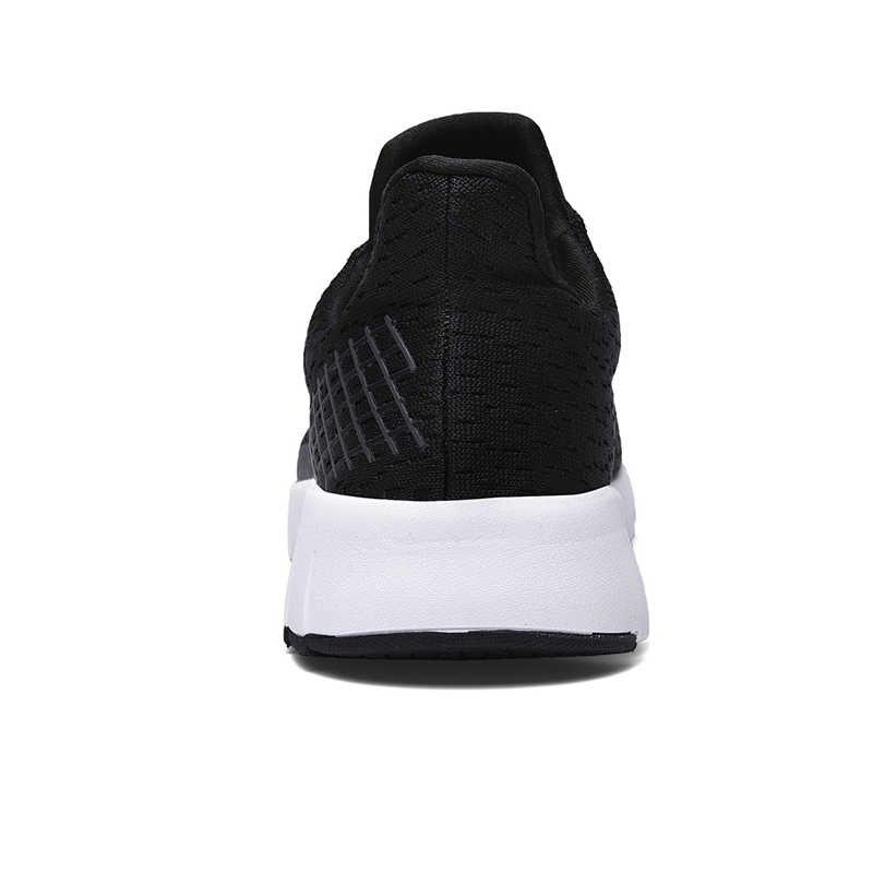 HUMTTO koşu ayakkabıları erkekler için nefes aşınmaya dayanıklı koşu spor erkek ayakkabı ışık açık büyük boy erkek yürüyüş spor ayakkabı