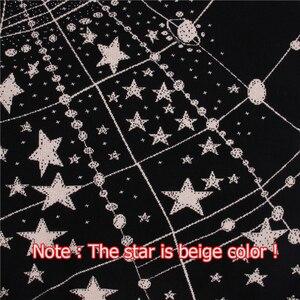 Image 5 - Suéter Retro con estampado de galaxia y estrellas para mujer, jerséis de manga larga Vintage, jerséis de Jacquard para mujer, C 285, Otoño e Invierno 2020