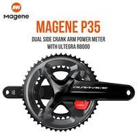 Magene P35 Dural Side Crank Arm Power Meter With Ultegra R8000 SHIMANO Road Bike Power Meter Crankset Chain Wheel Cycling Tool