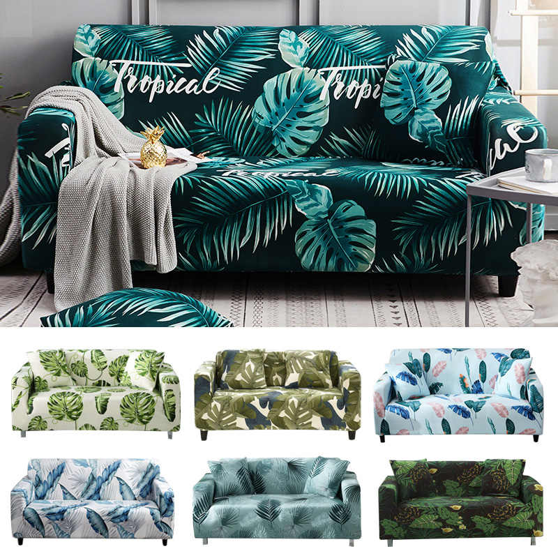 Luxury Jacquard Seater Cover Sofa Stretch Protector Couch Elastic Slipcovers New