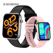 SENBONO – montre connectée PK P8 pour hommes et femmes, bracelet de sport, moniteur dactivité physique, étanche, 2021 pouces, pour téléphone Android IOS Xiaomi, nouveau 1.69