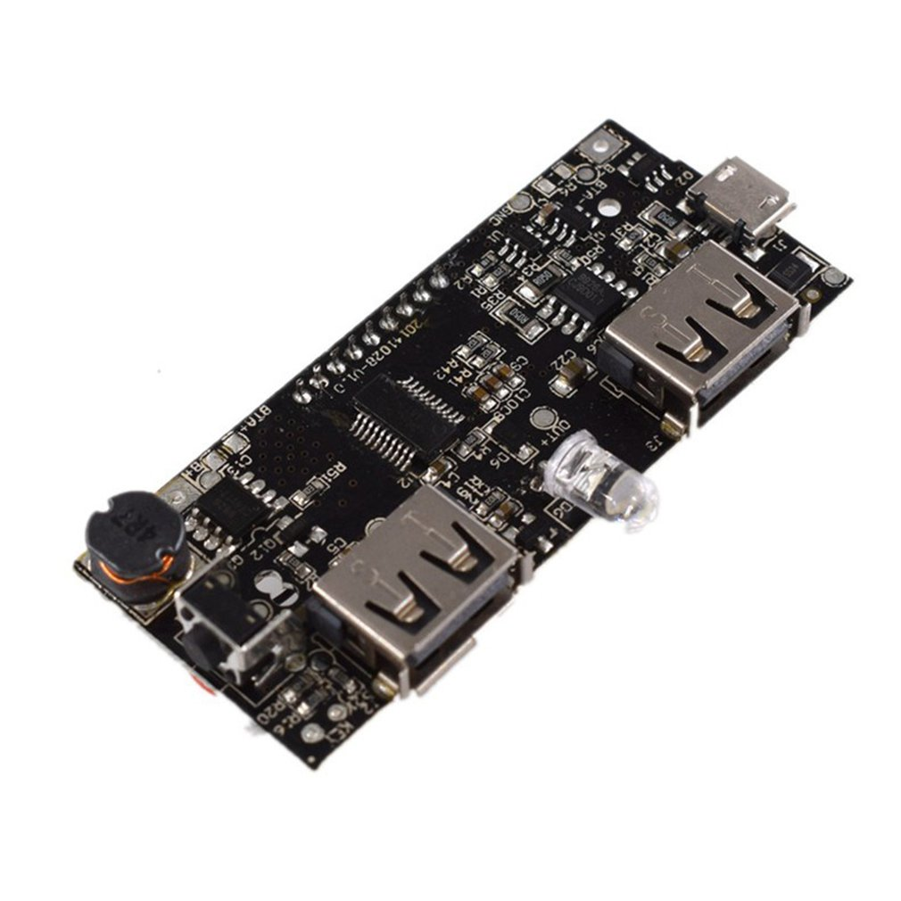 Lithium 18650 Battery Charger Protection Board External Power Bank Booster Batteries Protecting Module