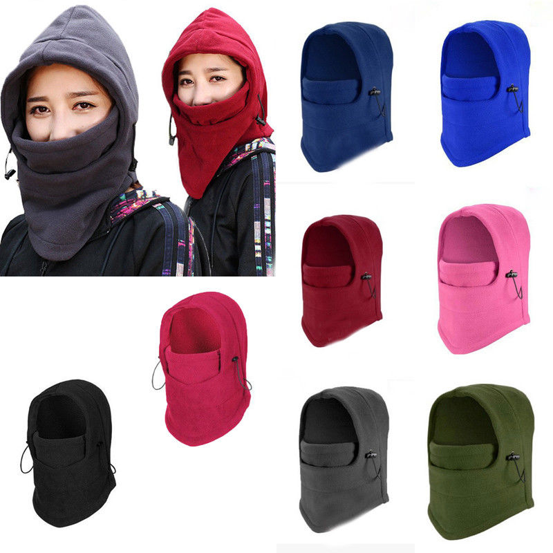 Windproof Cap Winter Warm Outdoor Fleece Cap Cycling Ski Head Neck Face Protector