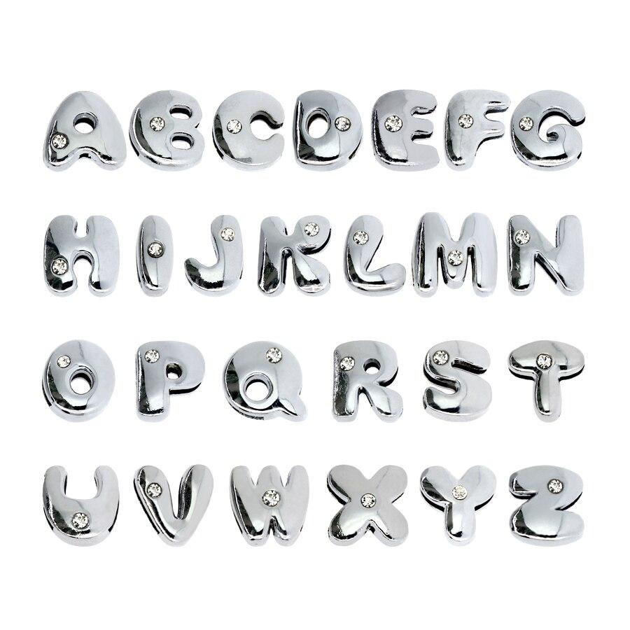 8mm-铬色胖字母-组合-1
